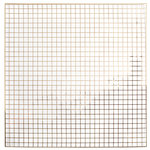 American Crafts - DIY Shop 3 Collection - 12 x 12 Acetate Paper with Foil Accents - Grid