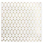 American Crafts - DIY Shop 3 Collection - 12 x 12 Acetate Paper with Foil Accents - Triangles