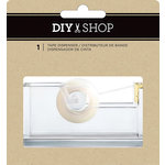 American Crafts - DIY Shop 3 Collection - Clear Acrylic Tape Dispenser