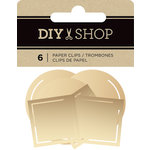 American Crafts - DIY Shop 3 Collection - Paper Clips - Gold