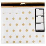 American Crafts - DIY Shop 3 Collection - Vellum File Folders with Foil Accents