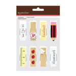 American Crafts - Clothespins - Back To School