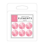 American Crafts - Brads - Diamond Gems - Pink