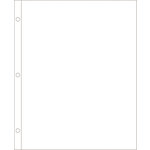 American Crafts - Becky Higgins - Project Life - Photo Pocket Pages - Fits 12 x 12 Three Ring Albums - 8.5 x 11 - Vertical - 12 pack