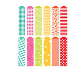 American Crafts - Becky Higgins - Project Life - Honey Collection - Designer Dividers - 12 Pack