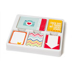American Crafts - Becky Higgins - Project Life - Honey Collection - Core Kit
