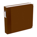 American Crafts - Becky Higgins - Project Life - Jade Collection - Album - 12 x 12 D-Ring - Brown