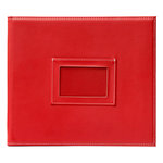 American Crafts - Becky Higgins - Project Life - Faux Leather Mini Album - Cherry