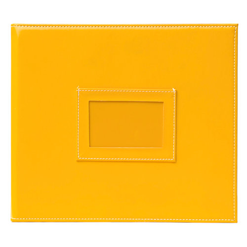 American Crafts - Becky Higgins - Project Life - Faux Leather Mini Album - Sunflower