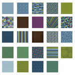 American Crafts - Becky Higgins - Project Life - Rain Collection - 12 x 12 Designer Paper Collection Pack