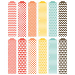 American Crafts - Becky Higgins - Project Life - Kraft Collection - Designer Dividers - 12 Pack