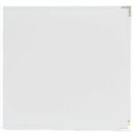 Becky Higgins - Project Life - Faux Leather Album - 12 x 12 - D-Ring - White
