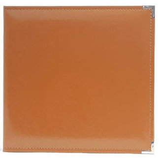 American Crafts - Becky Higgins - Project Life - Faux Leather Album - 12 x 12 - D-Ring - Cinnamon