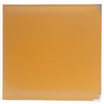 Becky Higgins - Project Life - Faux Leather Album - 12 x 12 D-Ring - Clementine