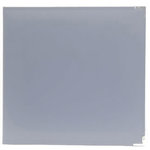 American Crafts - Becky Higgins - Project Life - Faux Leather Album - 12 x 12 - D-Ring - Grey