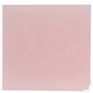 American Crafts - Becky Higgins - Project Life - Faux Leather Album - 12 x 12 - D-Ring - Baby Pink