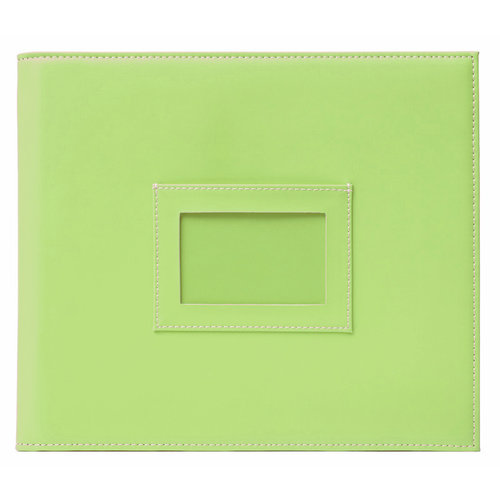 American Crafts - Becky Higgins - Project Life - Faux Leather Mini Album - Kiwi