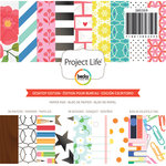 Becky Higgins - Project Life - Desktop Edition Collection - 6 x 6 Paper Pad