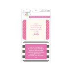 Becky Higgins - Project Life - Themed Card Pack - Becky's Quotes