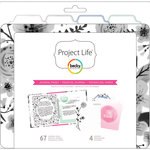 Becky Higgins - Project Life - 6 x 8 Filler Pack - Journal Pages
