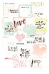 Becky Higgins - Project Life - Inspire Edition Collection - Card Pack - 4 x 4 - Instagram