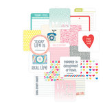 Becky Higgins - Project Life - High Five Edition Collection - Card Pack - 4 x 4 - Instagram