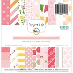 Becky Higgins - Project Life - Baby Girl Edition Collection - 6 x 6 Paper Pad