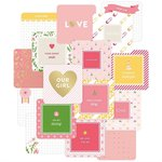 Becky Higgins - Project Life - Baby Girl Edition Collection - Card Pack - 4 x 4 - Instagram