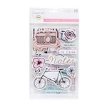 Becky Higgins - Project Life - Sweet Edition Collection - Chipboard Stickers