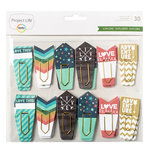 Becky Higgins - Project Life - Explore Edition Collection - Paperclips