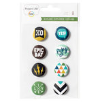 Becky Higgins - Project Life - Explore Edition Collection - Flair Badges