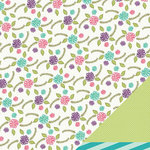 Imaginisce - Little Princess Collection - 12 x 12 Double Sided Paper - Secret Garden