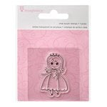 Imaginisce - Little Princess Collection - Snag 'em Acrylic Stamps - Princess