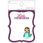 Imaginisce - Little Princess Collection - Die Cut Tag Pad