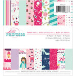 Imaginisce - Little Princess Collection - 6 x 6 Paper Pad