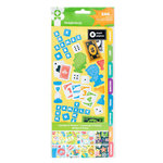 Imaginisce - Family Fun Collection - Large Sticker Book - Accents