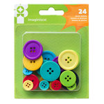 Imaginisce - Family Fun Collection - Buttons