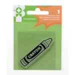 Imaginisce - Family Fun Collection - Snag 'em Acrylic Stamps - Crayon