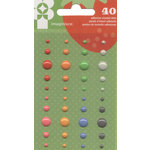 Imaginisce - Heartland Farm Collection - Enamel Dots