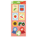 Imaginisce - Heartland Farm Collection - Sticker Stackers - 3 Dimensional Stickers