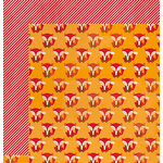 Imaginisce - Give Thanks Collection - 12 x 12 Double Sided Paper - Fox Days