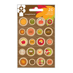 Imaginisce - Give Thanks Collection - Wood Buttons