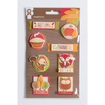 Imaginisce - Give Thanks Collection - Sticker Stackers - 3 Dimensional Sticker