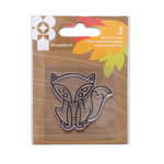 Imaginisce - Give Thanks Collection - Snag 'em Acrylic Stamps - Fox