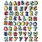 American Crafts - Remarks - 3 Dimensional Alphabet Stickers with Embossed Accents - Tyler, CLEARANCE