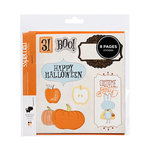 American Crafts - Nightfall Collection - Halloween - Remarks - Sticker Book - Halloween