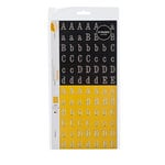 American Crafts - Amy Tangerine Collection - Remarks - Stickers Book - Large - Letter