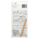 American Crafts - Amy Tangerine Collection - Yes, Please - Rub On Transfers - Dream
