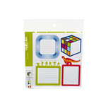 American Crafts - Junior Collection - Remarks - Journaling Sticker Book - Pal - Color