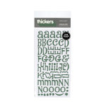 American Crafts - Thickers - Chipboard Letter Stickers - Jewelry Box - Shamrock